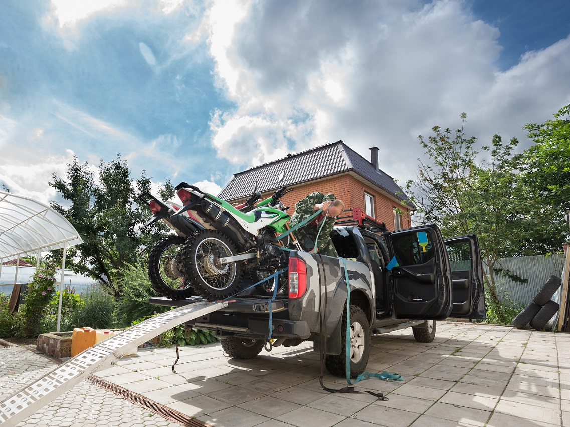 Transporting You Motorcycle Yourself? Here's Some Tips…