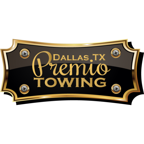 Premio Towing Sign